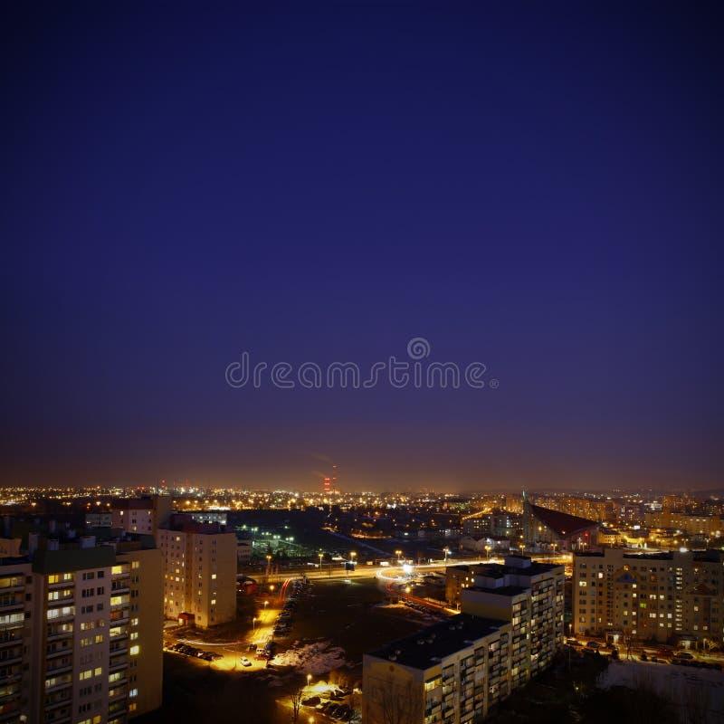 De horizon van de stad stock foto