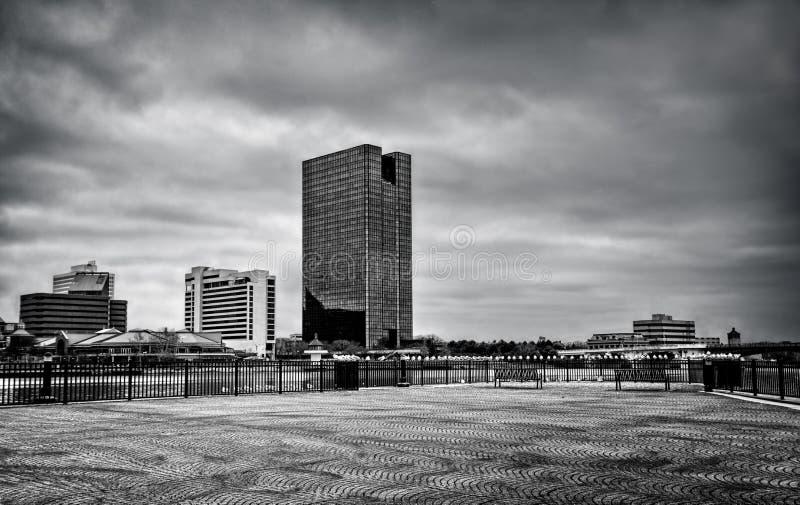 De Horizon van de stad royalty-vrije stock fotografie