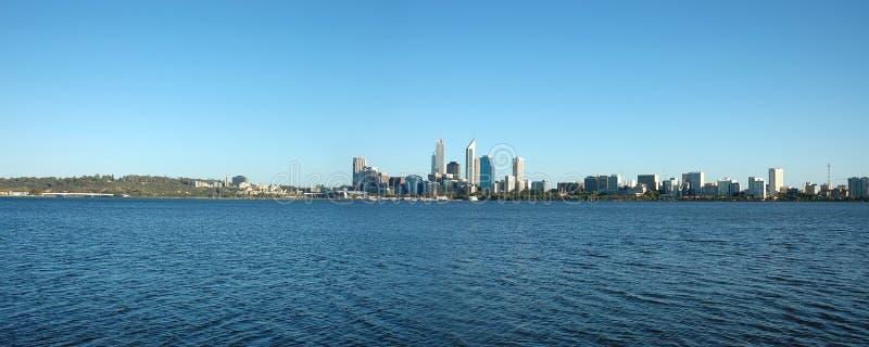 De Horizon van de Stad van Perth stock fotografie