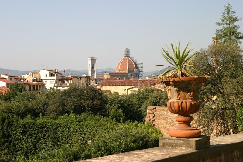 De horizon van Florence stock fotografie