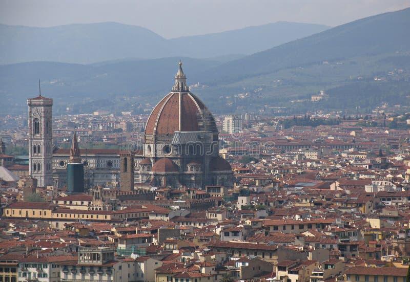 De horizon van Florence stock afbeeldingen