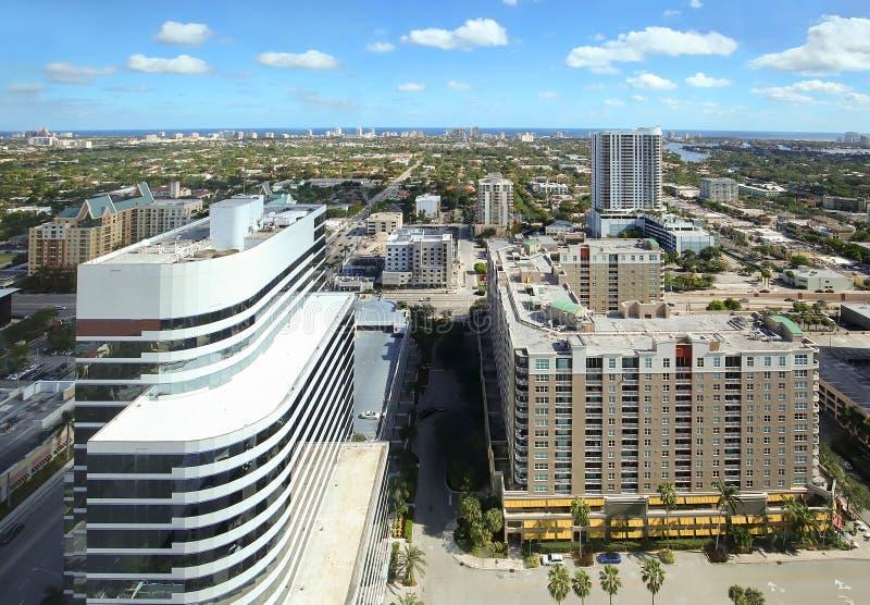 De Horizon van Fort Lauderdale royalty-vrije stock afbeelding