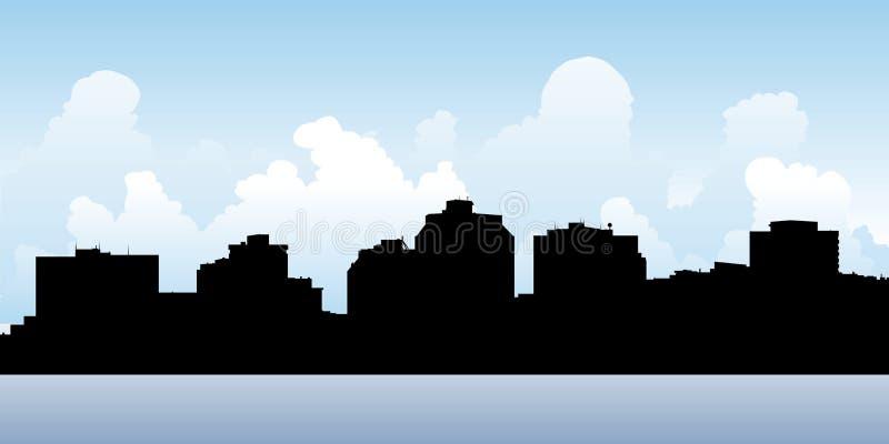 De Horizon van Halifax stock illustratie