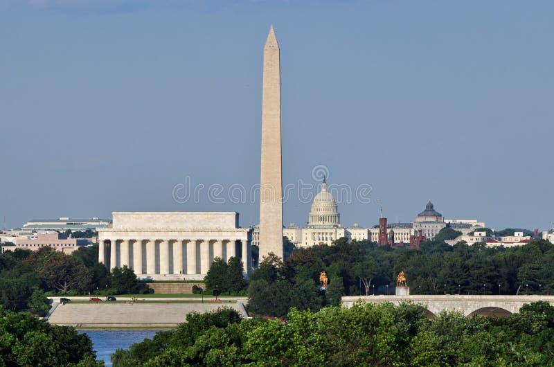 Download De Horizon Van Het Washington DC Stock Foto - Afbeelding bestaande uit capitol, verlichting: 29513178