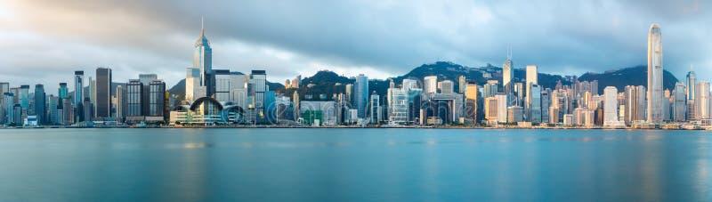 De Horizon van Hongkong stock foto