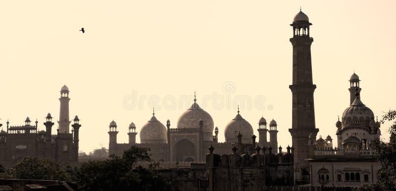 De horizon van Lahore stock fotografie