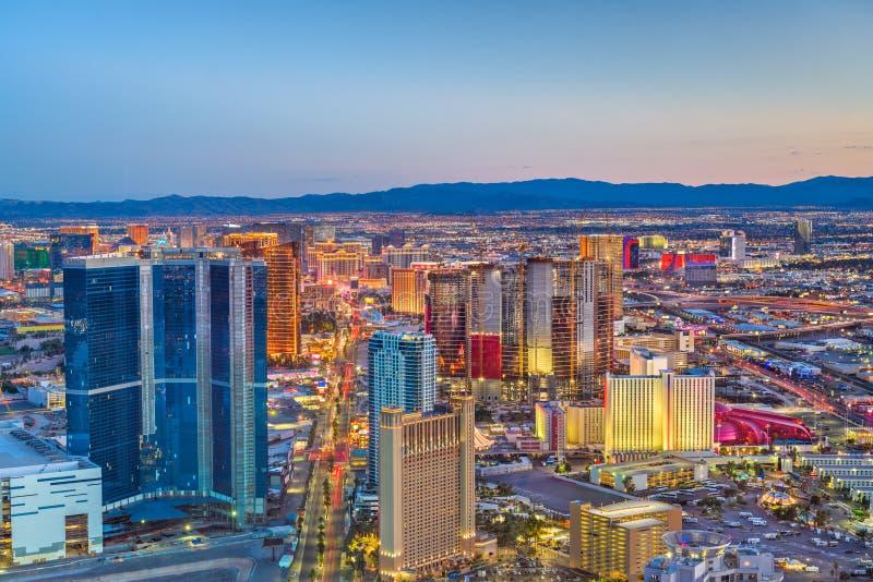 De Horizon van Las Vegas, Nevada, de V.S. stock foto's