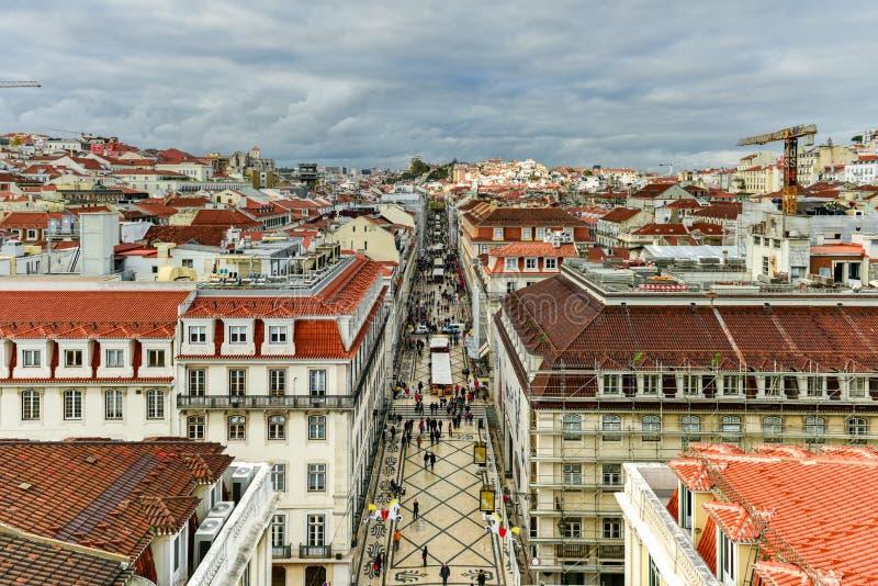 De Horizon van Lissabon - Portugal royalty-vrije stock foto