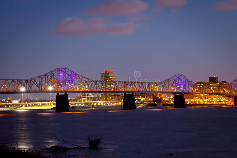 De Horizon van Louisville stock foto