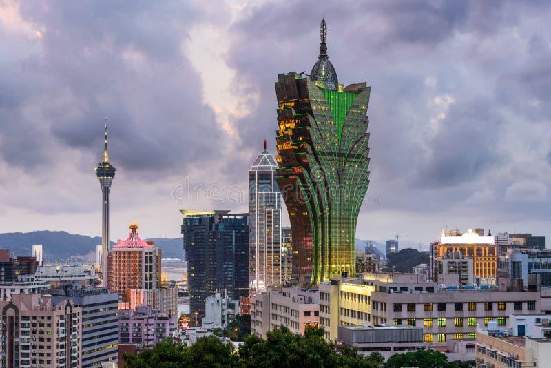 De Horizon van Macao China stock fotografie