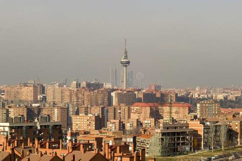 De Horizon van Madrid royalty-vrije stock foto's