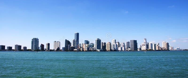 De horizon van Miami
