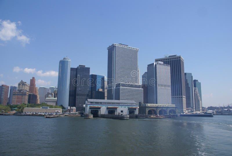 De Horizon van New York, royalty-vrije stock foto's