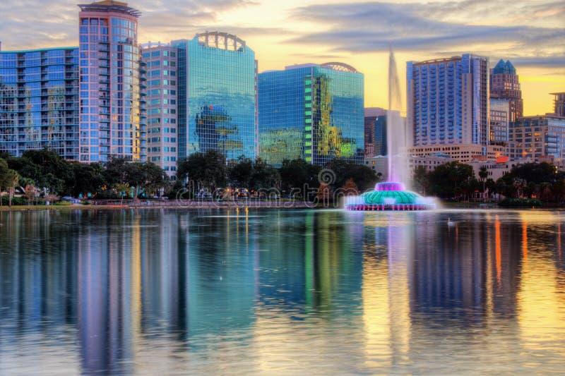 De Horizon van Orlando stock afbeelding