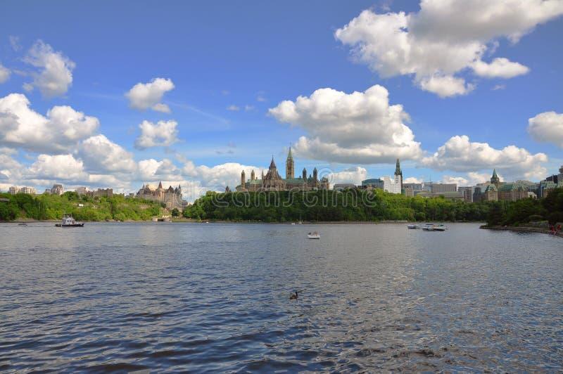 De Horizon van Ottawa, Ontario, Canada stock foto's