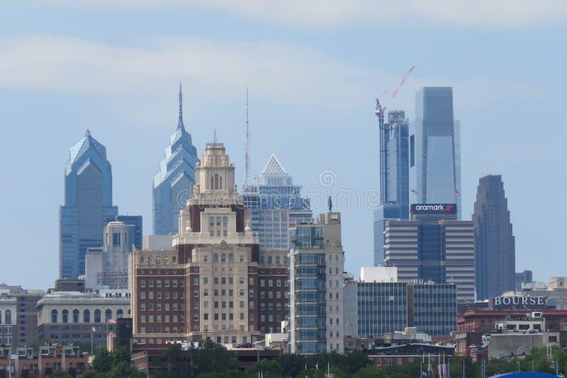 De horizon van de PA van Philadelphia stock afbeeldingen