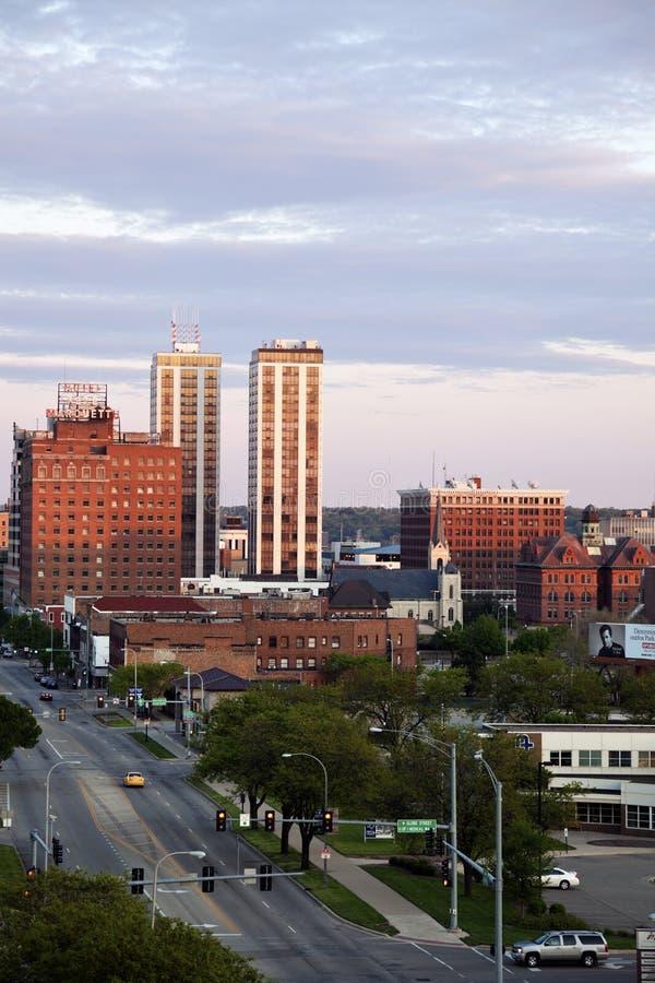 De horizon van Peoria royalty-vrije stock foto