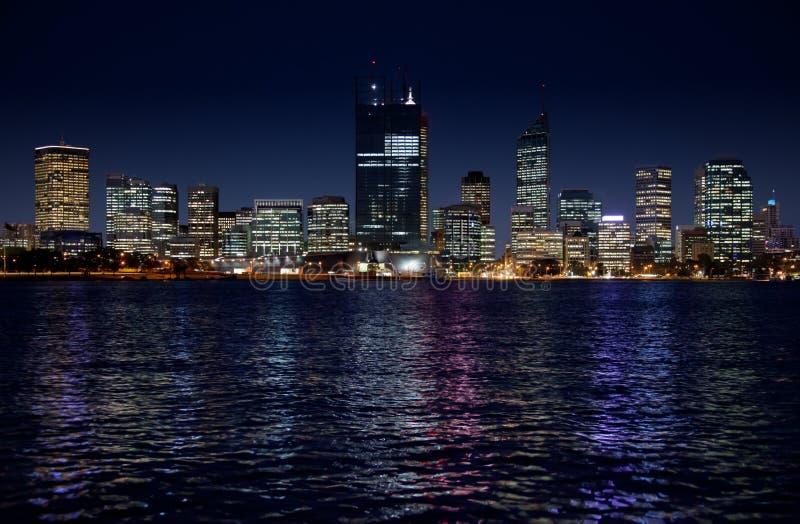 De Horizon van Perth stock afbeeldingen