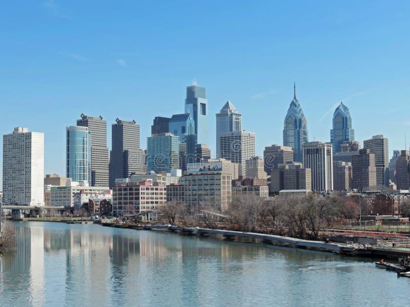 De Horizon van Philadelphia royalty-vrije stock afbeeldingen