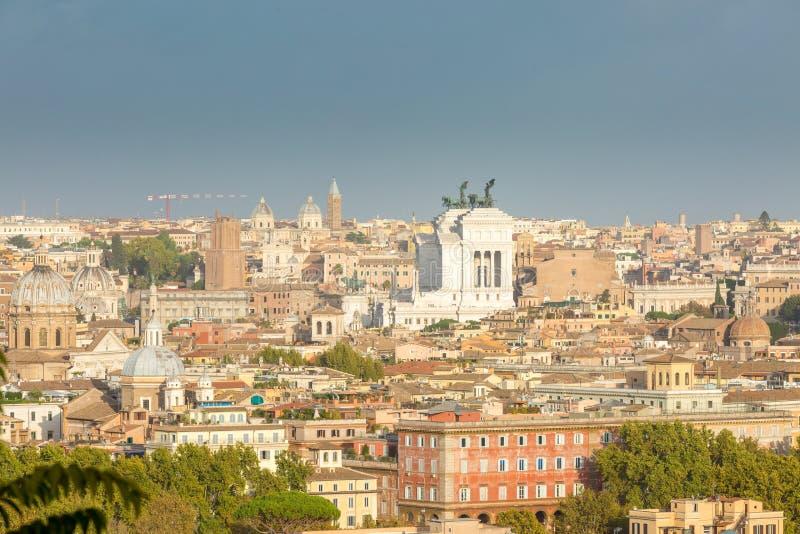De Horizon van Rome Italië royalty-vrije stock foto