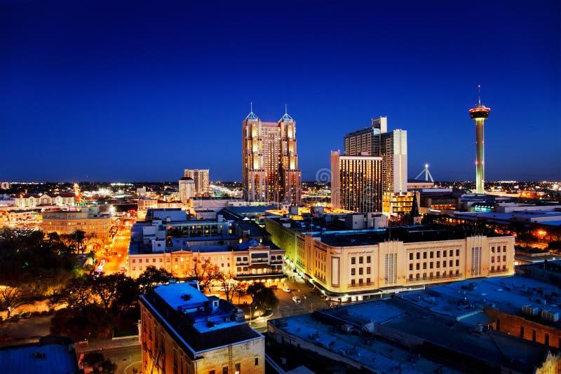 De horizon van San Antonio royalty-vrije stock fotografie