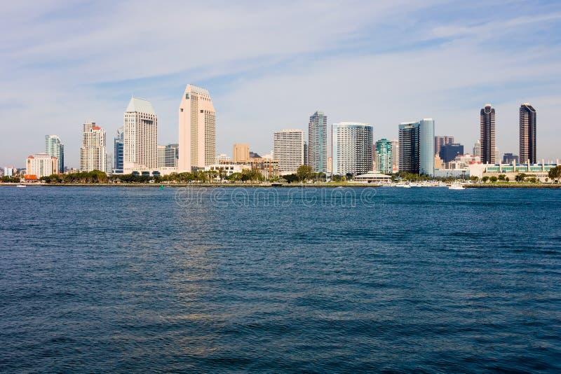 De horizon van San Diego royalty-vrije stock foto