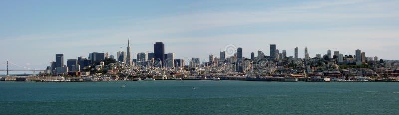 De horizon van San Francisco royalty-vrije stock foto's