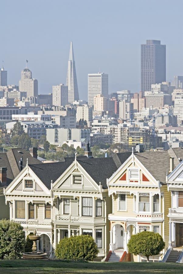 De horizon van San Francisco stock fotografie