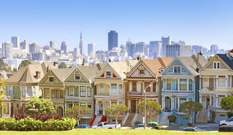 De horizon van San Francisco stock foto