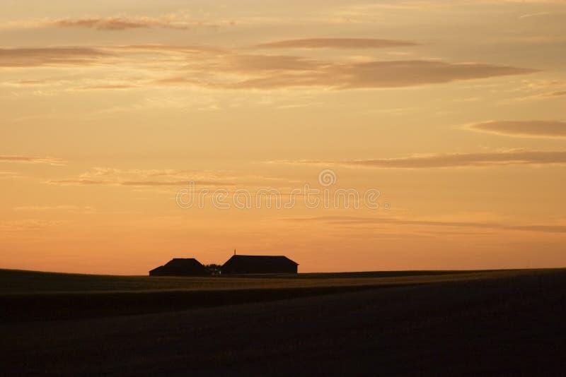 De Horizon van Saskatchewan royalty-vrije stock foto's