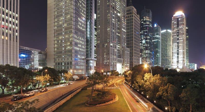 De Horizon van Shanghai, China royalty-vrije stock afbeeldingen