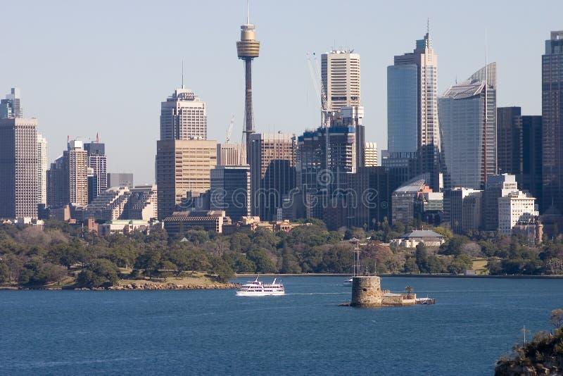 De Horizon van Sydney stock afbeelding