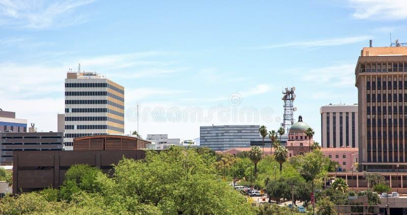 De Horizon van Tucson royalty-vrije stock foto