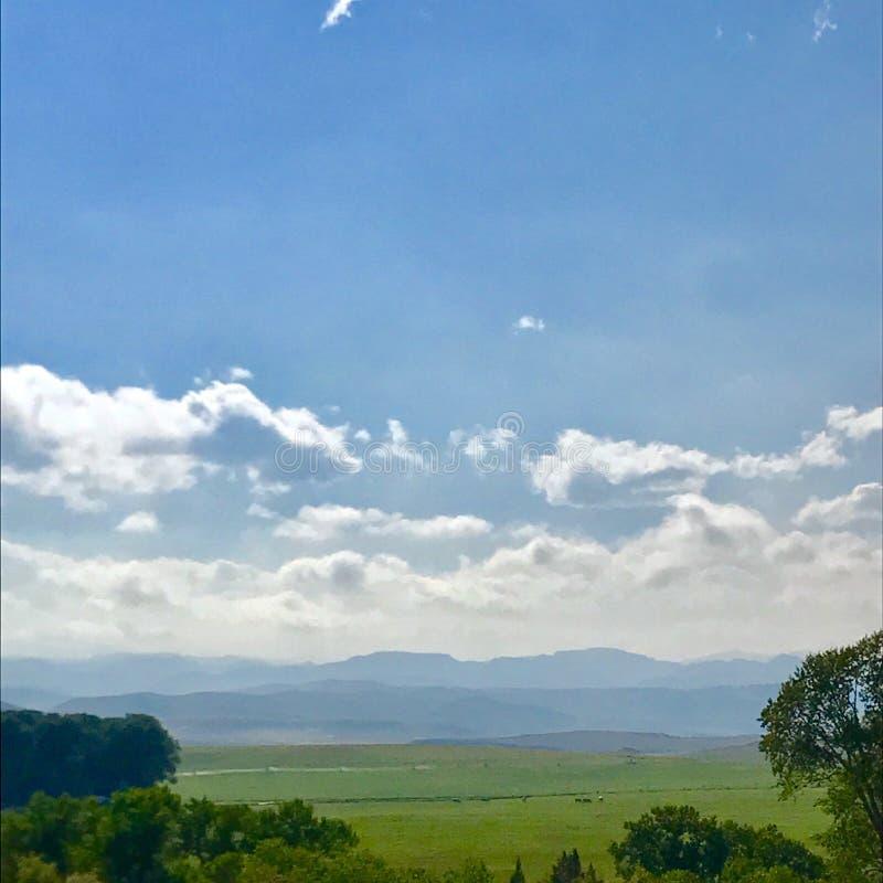 De Horizon van Utah royalty-vrije stock afbeelding