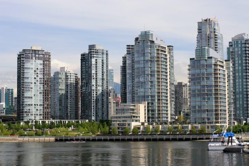 De Horizon van Vancouver royalty-vrije stock afbeelding