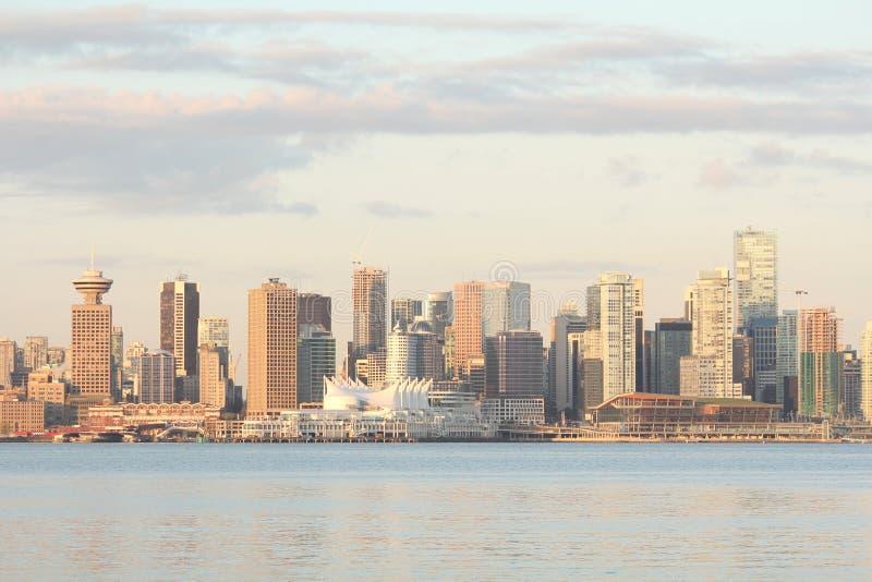 De Horizon van Vancouver, Handel en het Centrum van de Overeenkomst royalty-vrije stock foto's