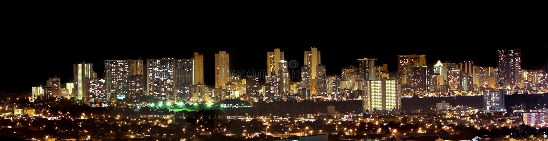 De Horizon van Waikiki royalty-vrije stock foto