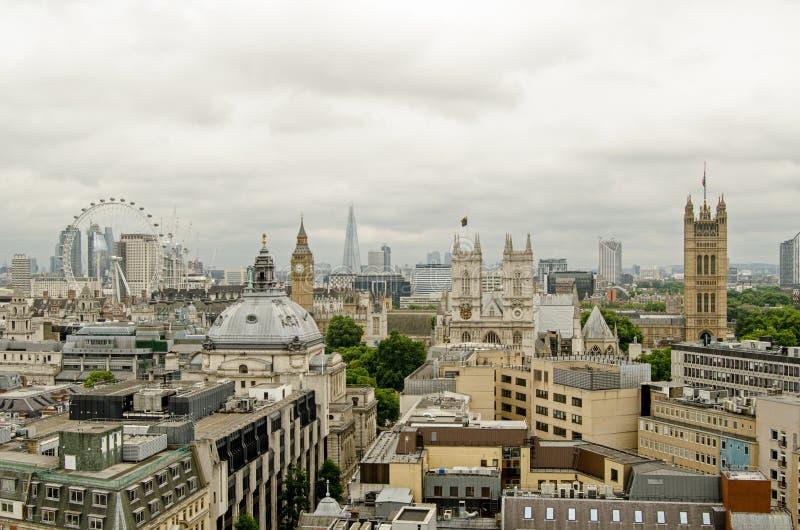 De Horizon van Westminster, Londen stock afbeelding