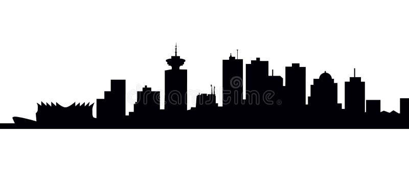 De horizon-Vector van Vancouver