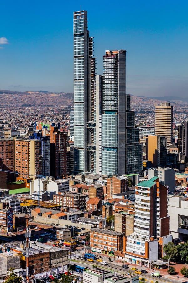 De Horizoncityscape Colombia van Bogota royalty-vrije stock foto
