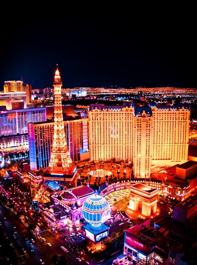De Horizonnacht van Las Vegas royalty-vrije stock foto