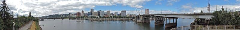 De Horizonpanorama van Portland royalty-vrije stock foto