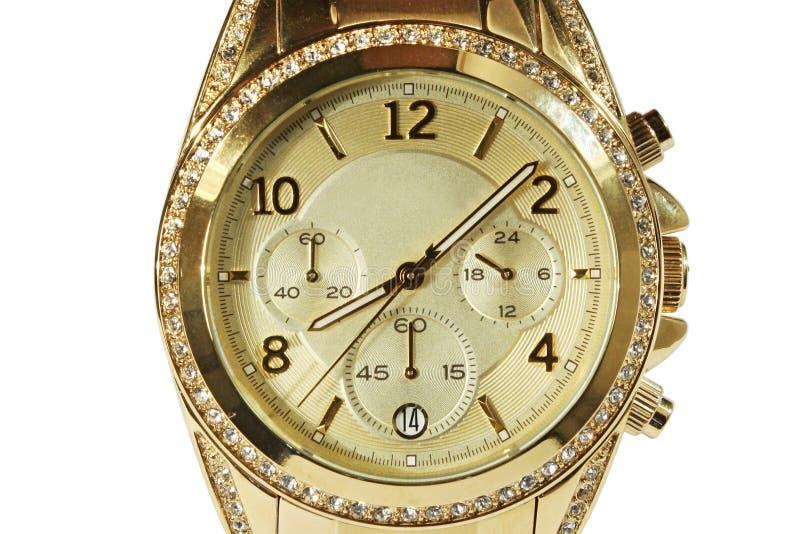 De horloges van modieuze mensen. royalty-vrije stock foto