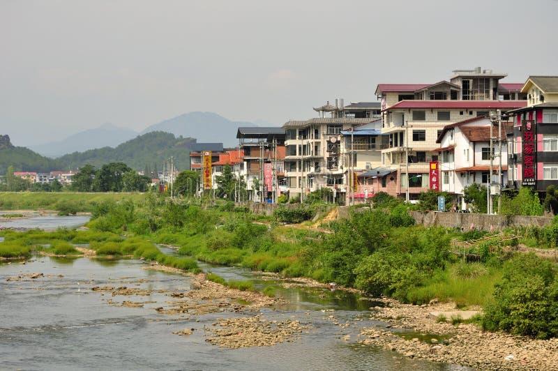 De hotels van Wuyichina stock foto's