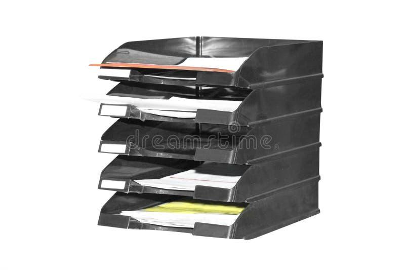 De houder van het exemplaar met document royalty-vrije stock fotografie
