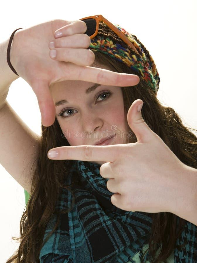 De Houding van de tiener stock foto's