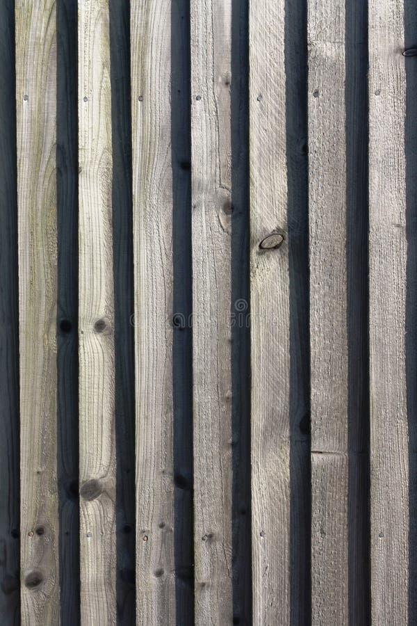 De hout met panelen beklede achtergrond van de tuinomheining royalty-vrije stock afbeelding