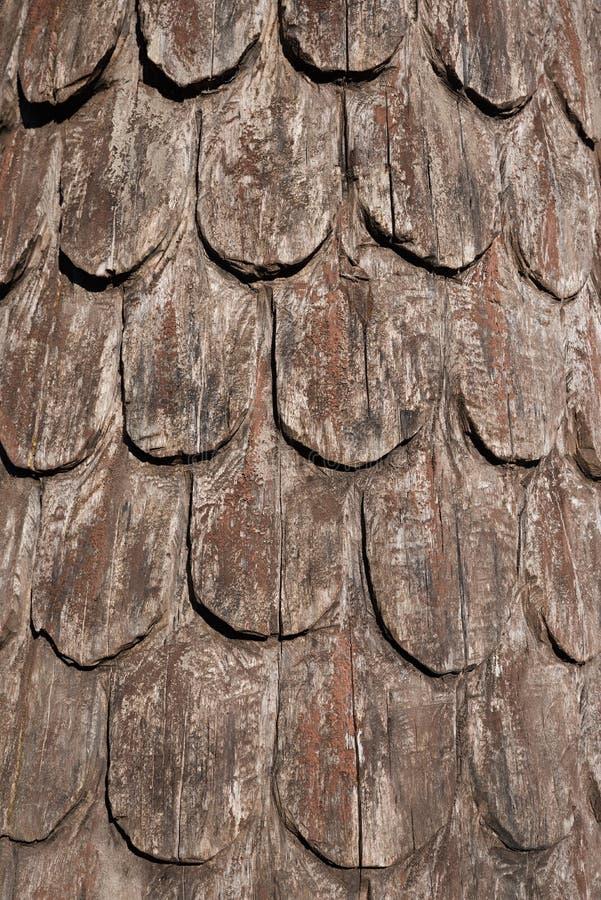 De houten achtergrond van dakdakspanen royalty-vrije stock afbeeldingen