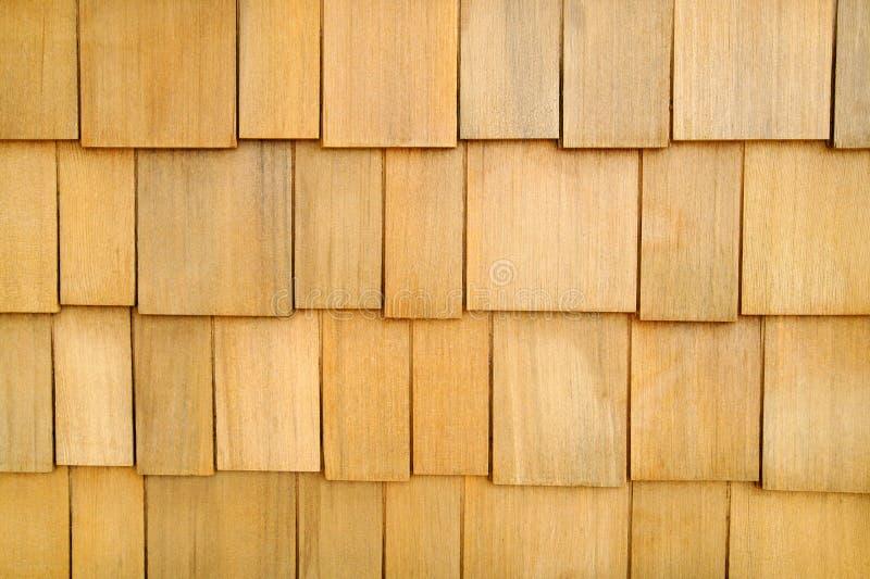 De houten Achtergrond van de Muur van de Dakspaan stock foto's