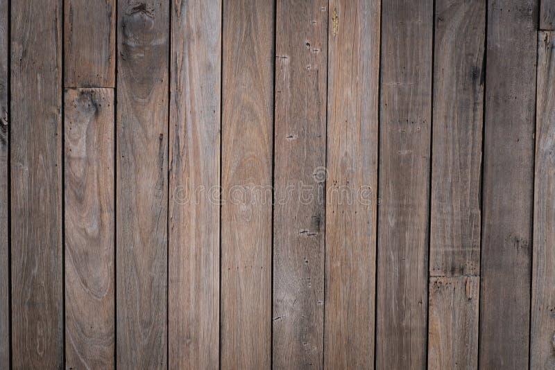 De houten bruine achtergrond van de planktextuur royalty-vrije stock afbeeldingen